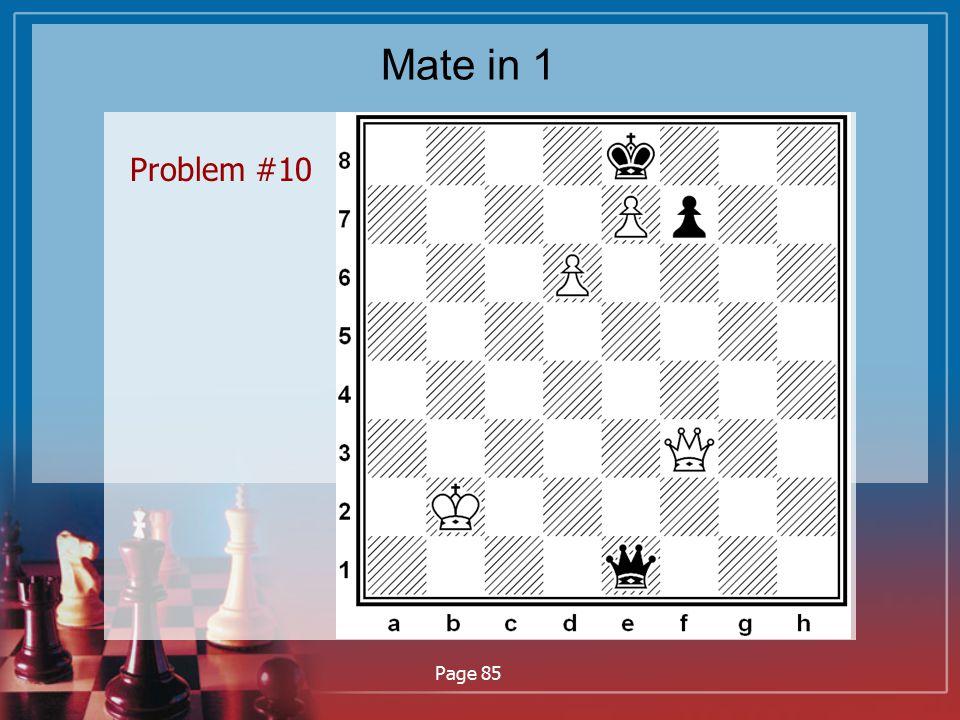 Mate in 1 Problem #10