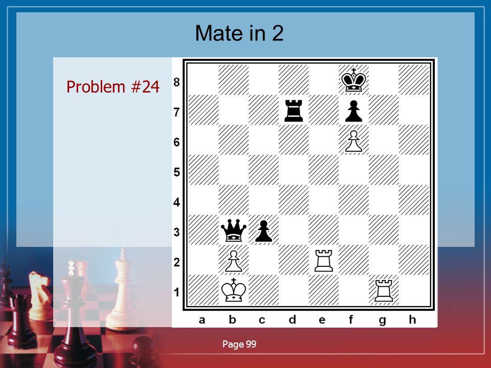 Mate in 2 Problem #24