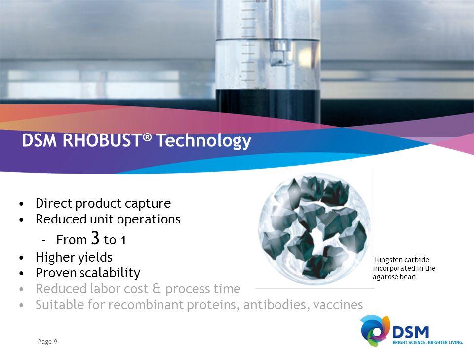 RHOBUST® Direct Capture Technology
