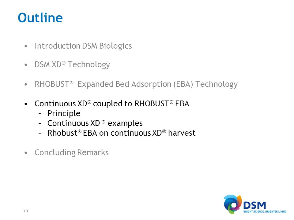 Continuous XD® - Rhobust® principle