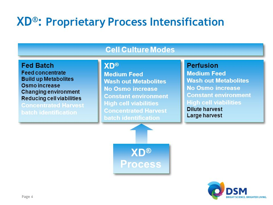 XD® : Process Intensification Scale-up - PER.C6®; Viable cell count