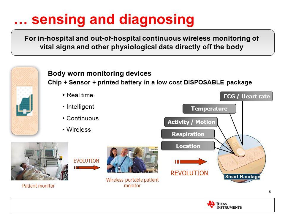 … sensing and diagnosing