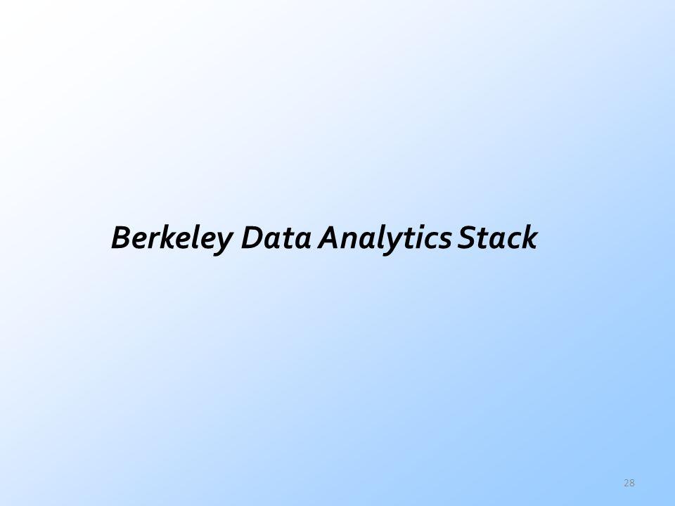 Berkeley Data Analytics Stack