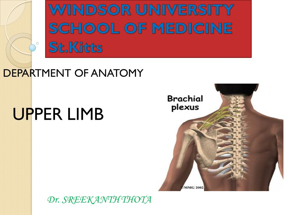 WINDSOR UNIVERSITY SCHOOL OF MEDICINE St.Kitts