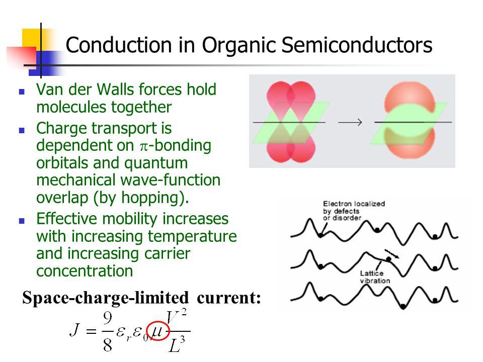 Conduction in Organic Semiconductors