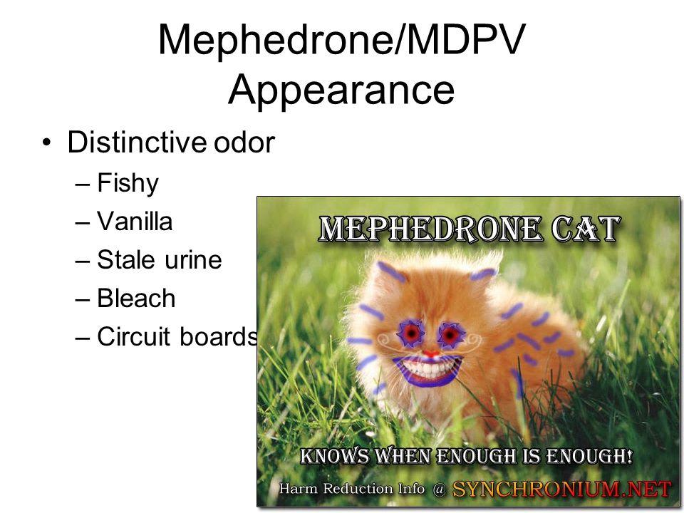 Mephedrone/MDPV Appearance