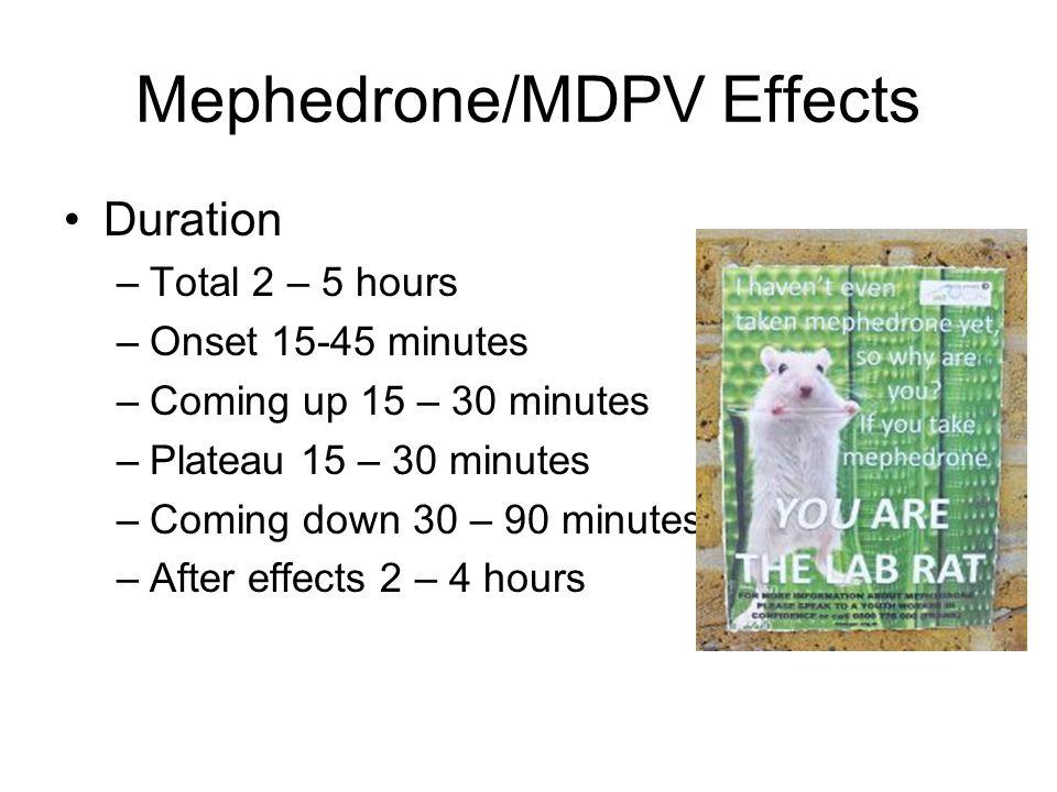 Mephedrone/MDPV Effects