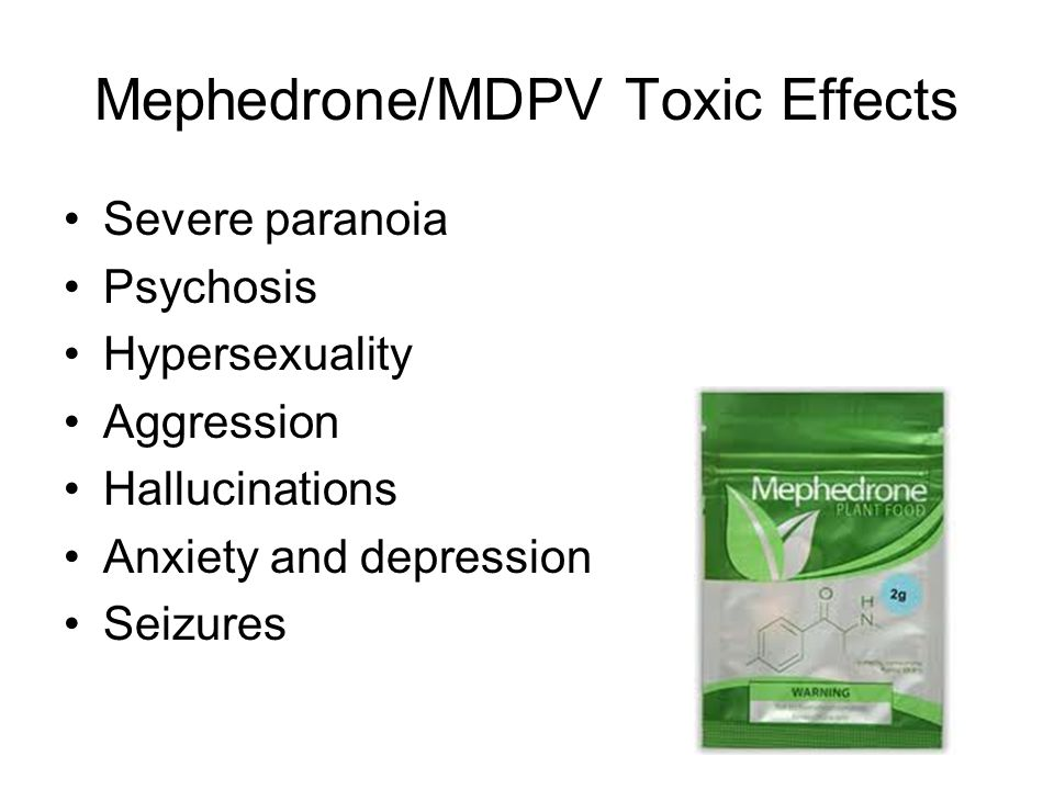 Mephedrone/MDPV Toxic Effects