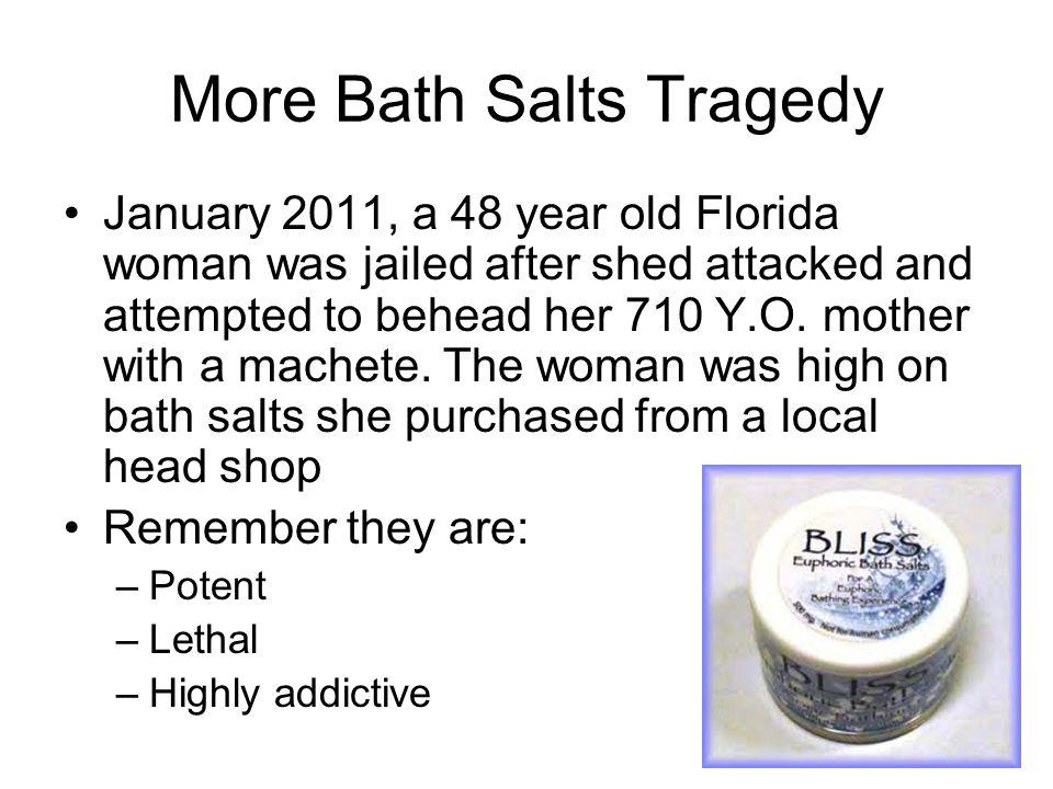More Bath Salts Tragedy