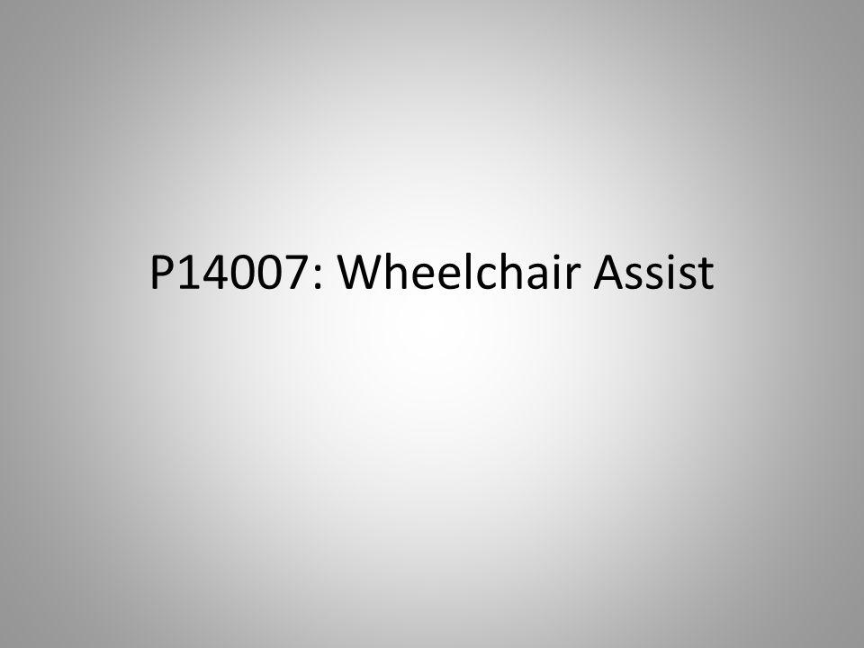 P14007: Wheelchair Assist