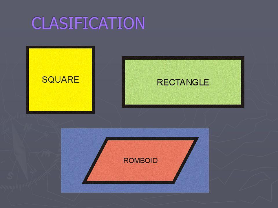 CLASIFICATION