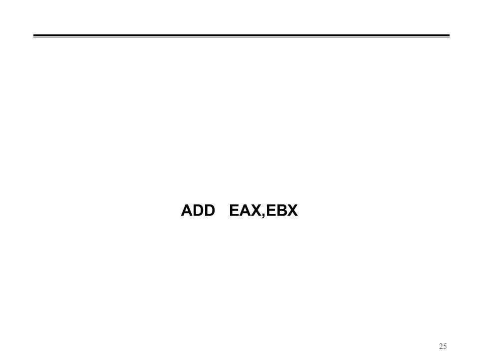ADD EAX,EBX