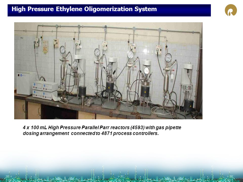 High Pressure Ethylene Oligomerization System