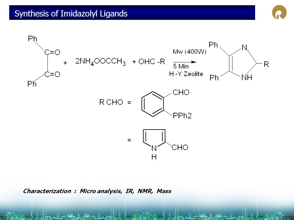 Synthesis of Imidazolyl Ligands