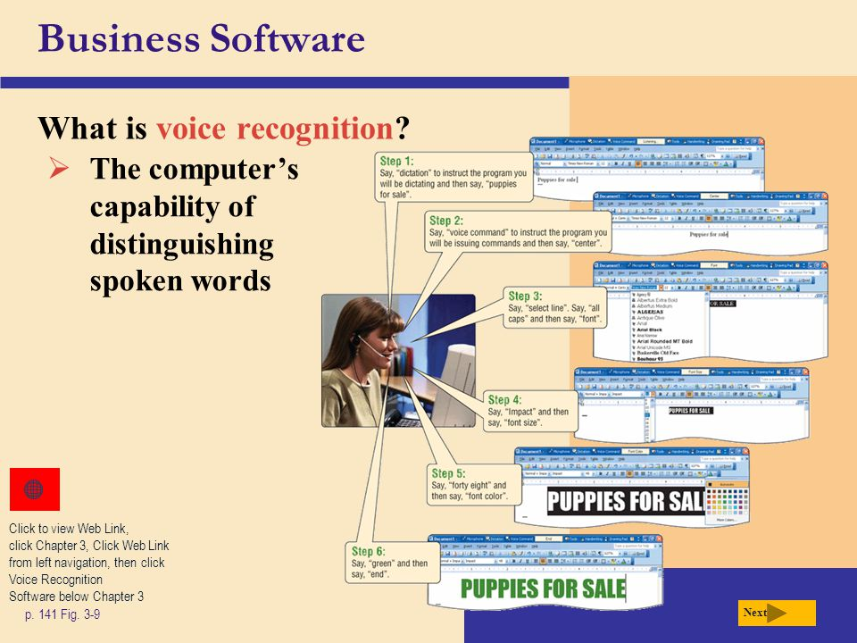 Business Software What is voice recognition