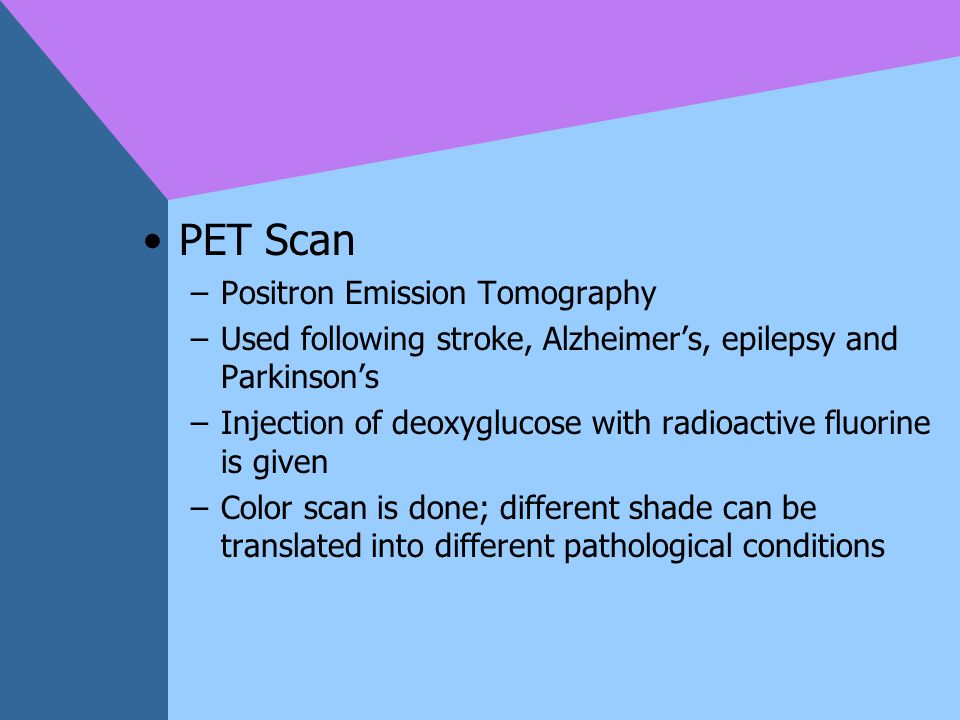 PET Scan Positron Emission Tomography