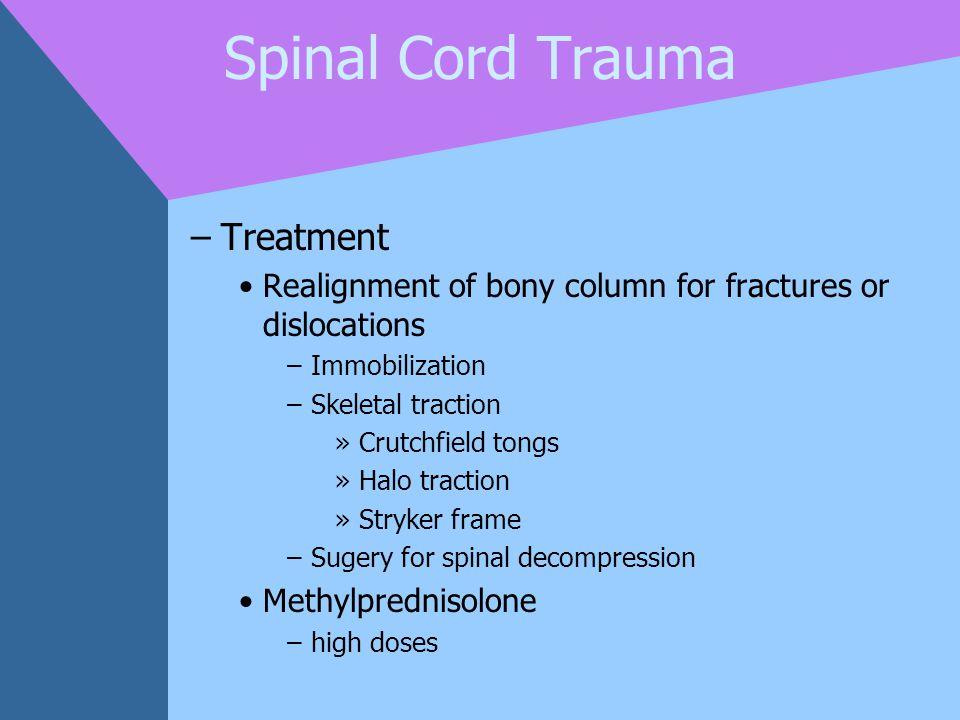 Spinal Cord Trauma Treatment