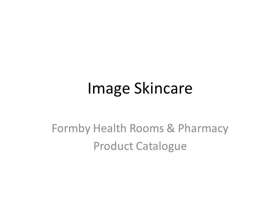 Formby Health Rooms & Pharmacy Product Catalogue