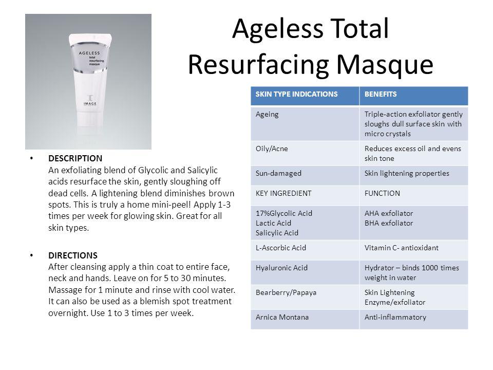 Ageless Total Resurfacing Masque