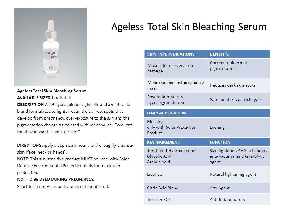 Ageless Total Skin Bleaching Serum