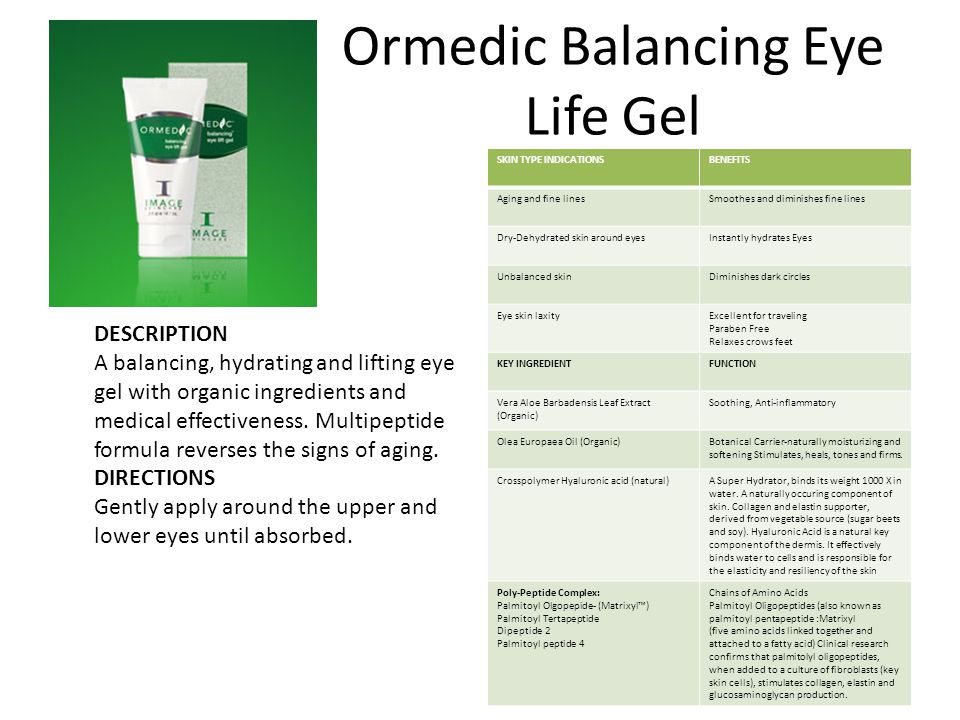Ormedic Balancing Eye Life Gel