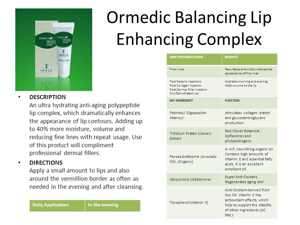 Ormedic Balancing Lip Enhancing Complex