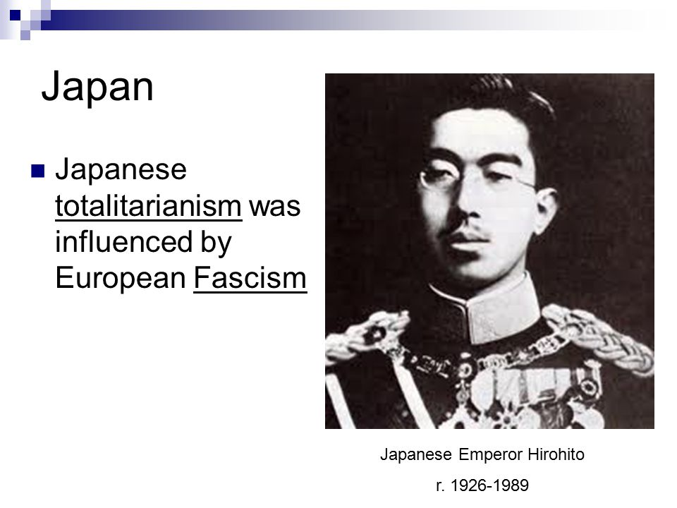 Japanese Emperor Hirohito