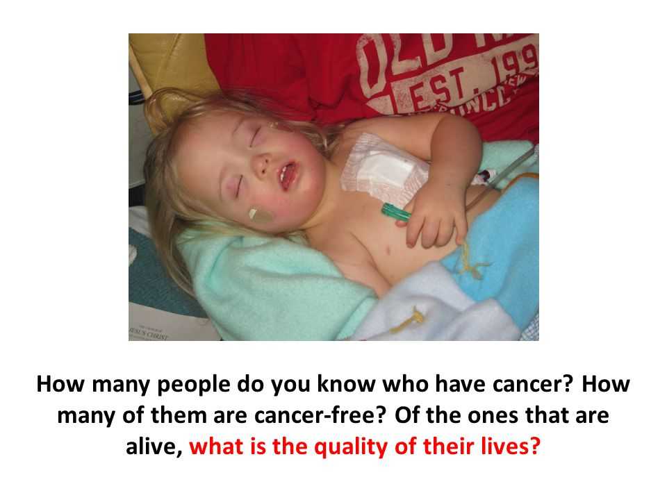 How many people do you know who have cancer