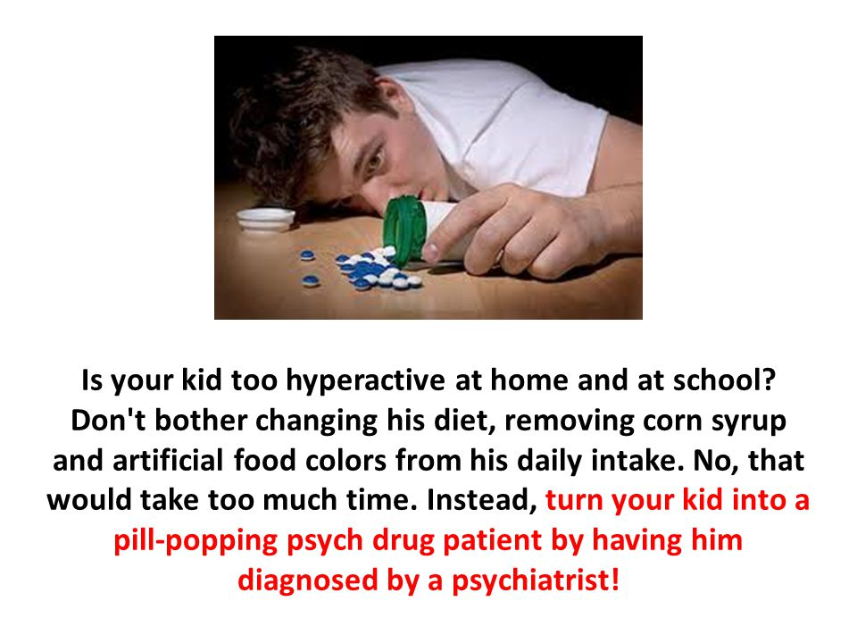 Is your kid too hyperactive at home and at school