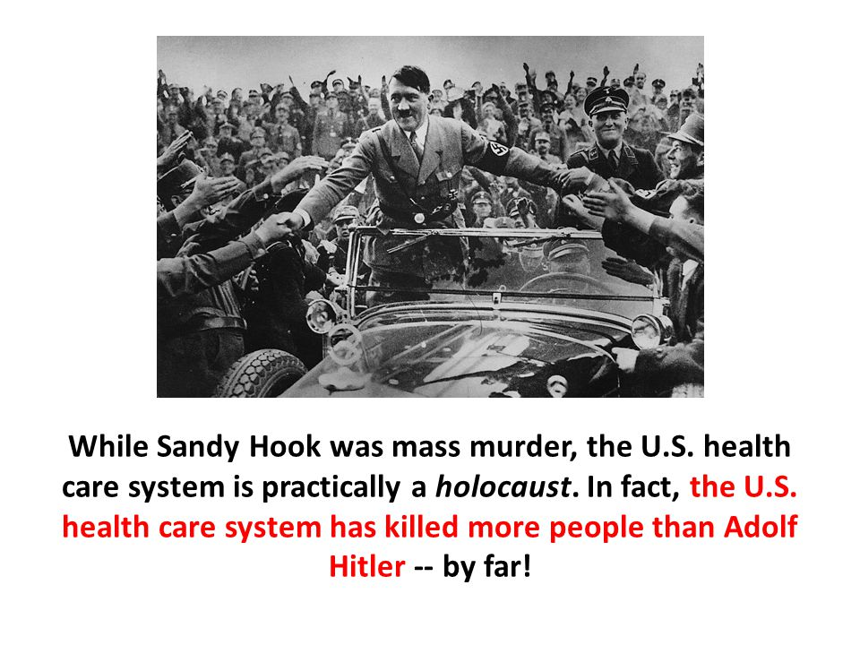 While Sandy Hook was mass murder, the U. S