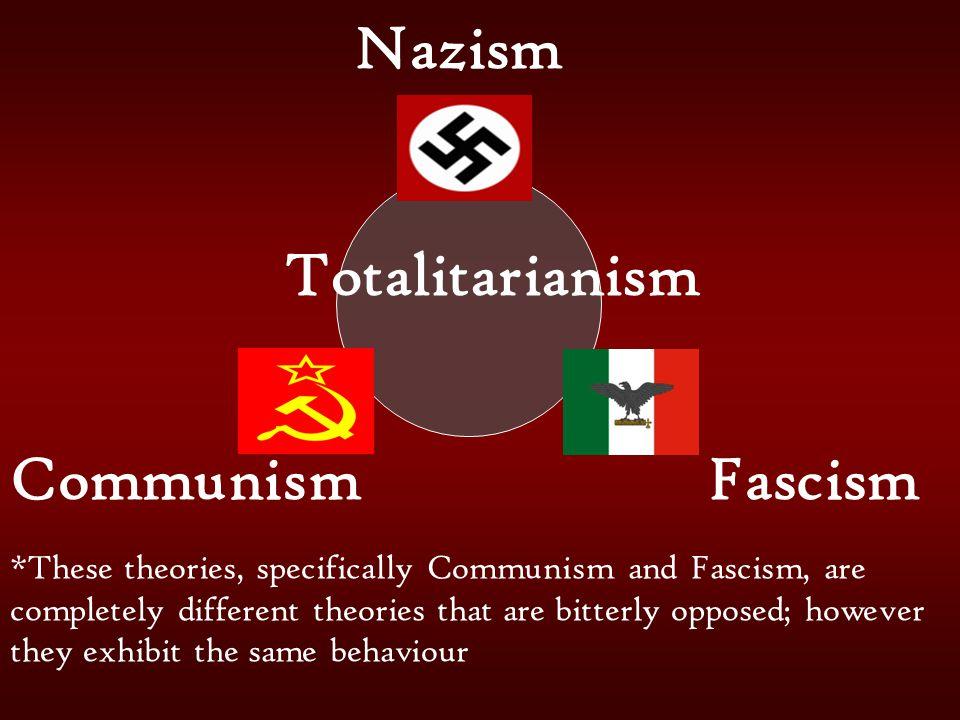 Nazism Totalitarianism Communism Fascism