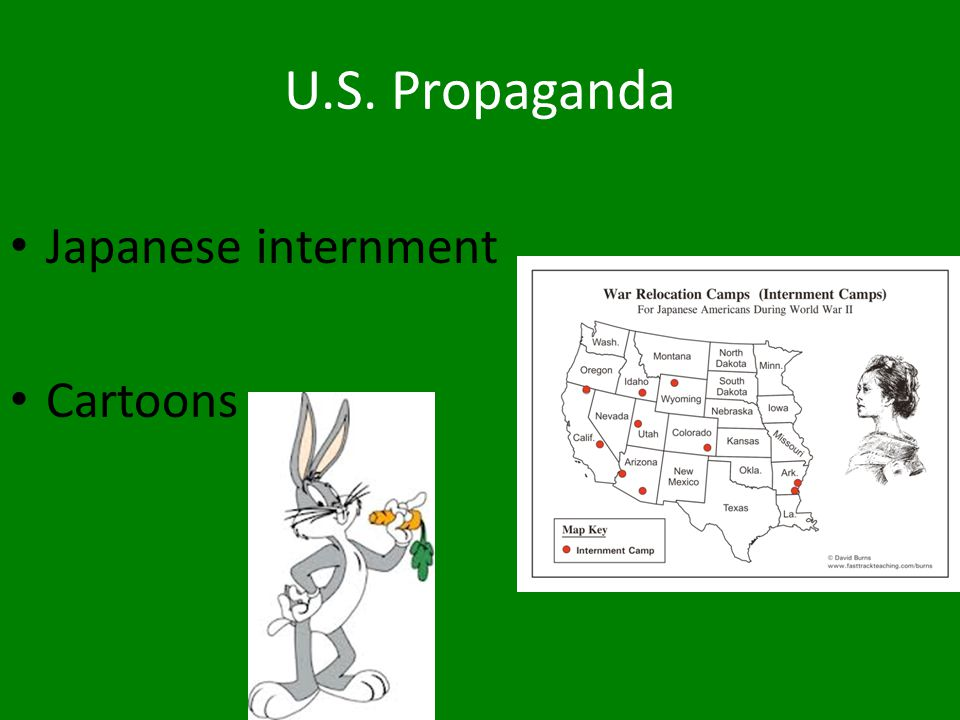 U.S. Propaganda Japanese internment Cartoons