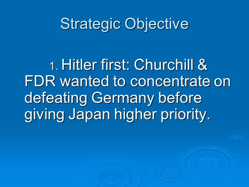 Strategic Objective 1.