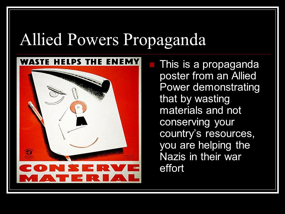 Allied Powers Propaganda