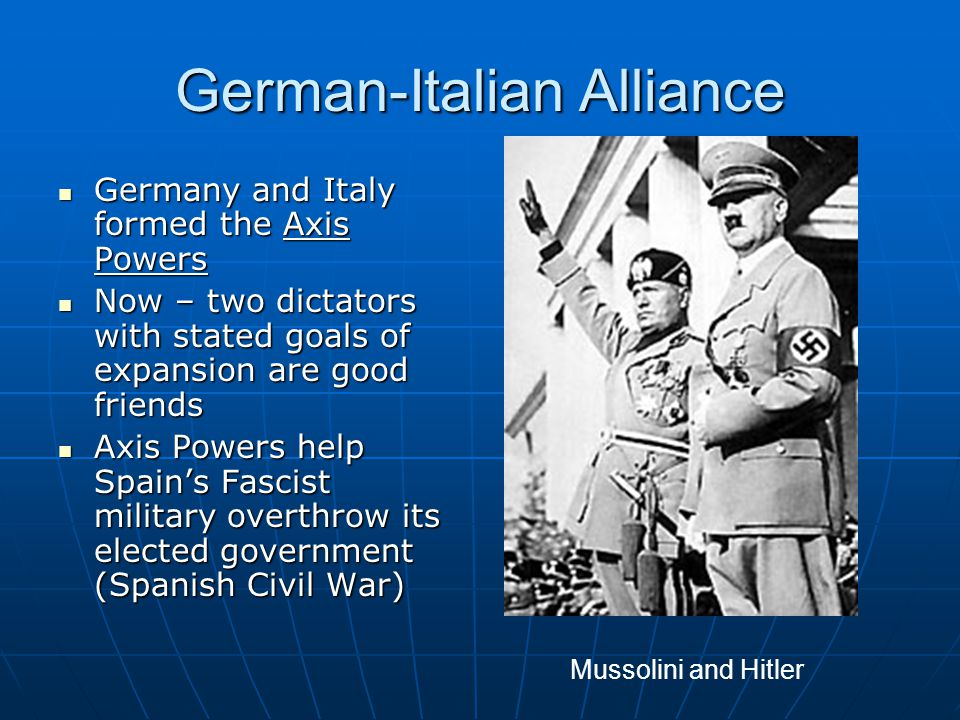 German-Italian Alliance