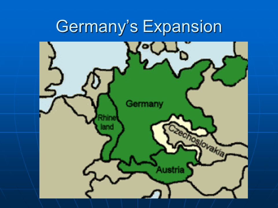 Germany's Expansion