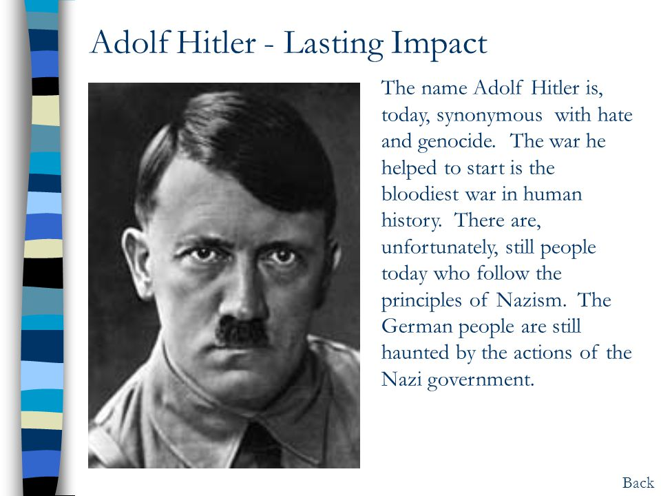 a brief look into the dictatorship of adolf hitler and benito mussolini Facts, information and articles about the adolf hitler, notorious nazi leader and german führer in world war ii adolf hitler facts born 4/20/1889 austria died 4/30/1945 berlin (suicide) commands führer of germany spouse eva braun hitler articles explore articles from the history net archives about adolf hitler » see all hitler articles adolf.