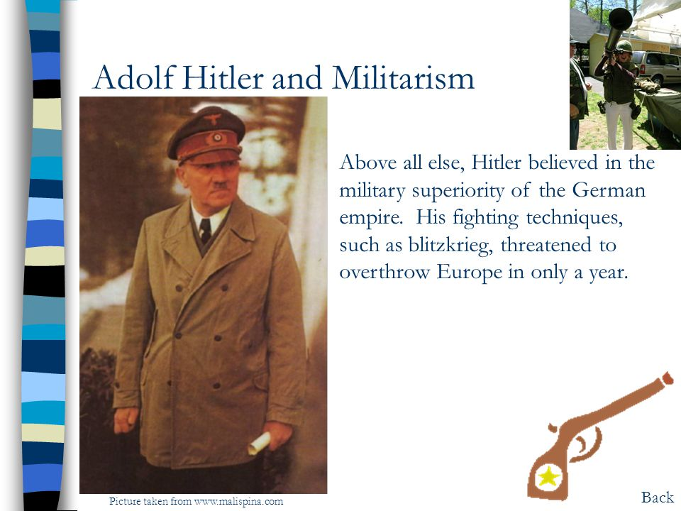 Adolf Hitler and Militarism
