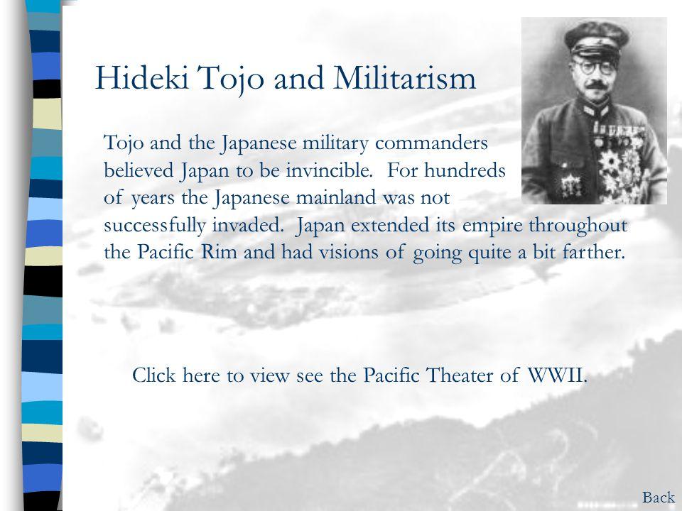 Hideki Tojo and Militarism