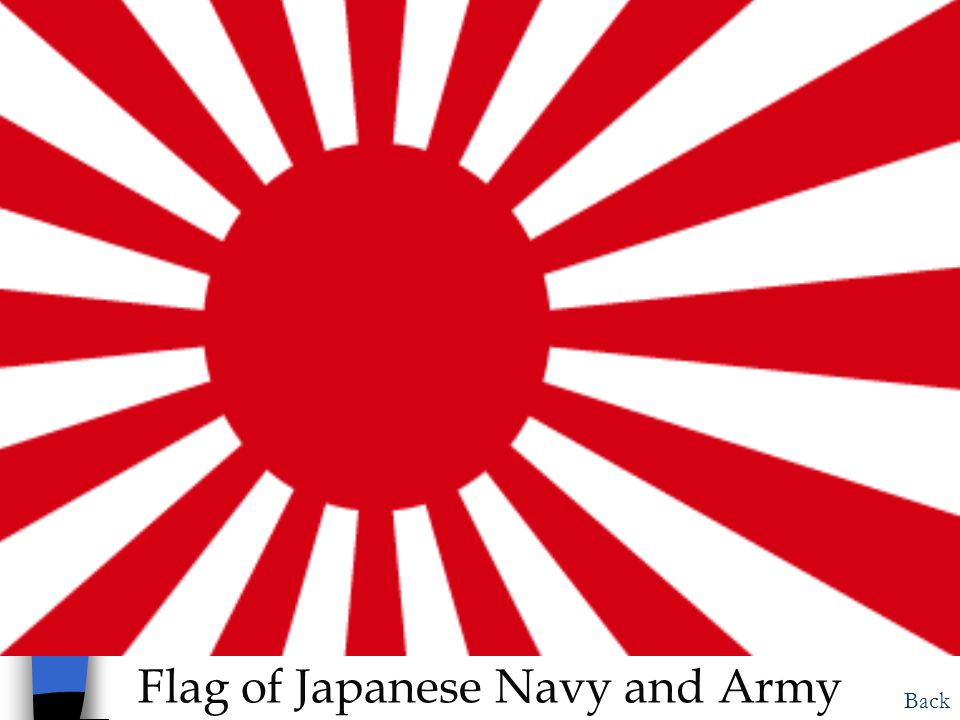 Flag of Japanese Navy and Army