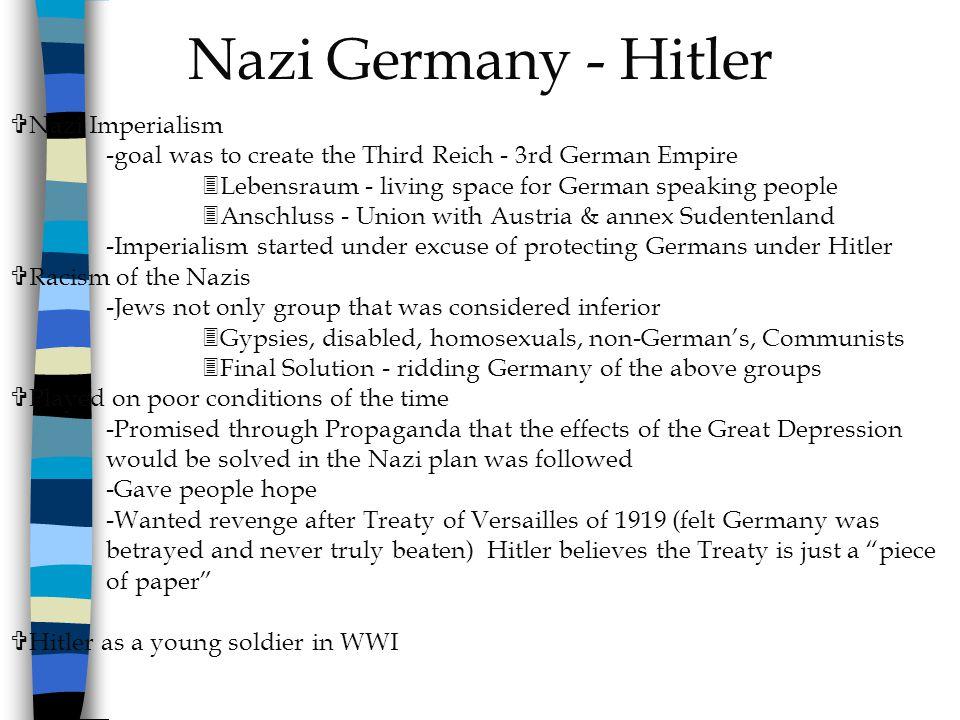 Nazi Germany - Hitler Nazi Imperialism