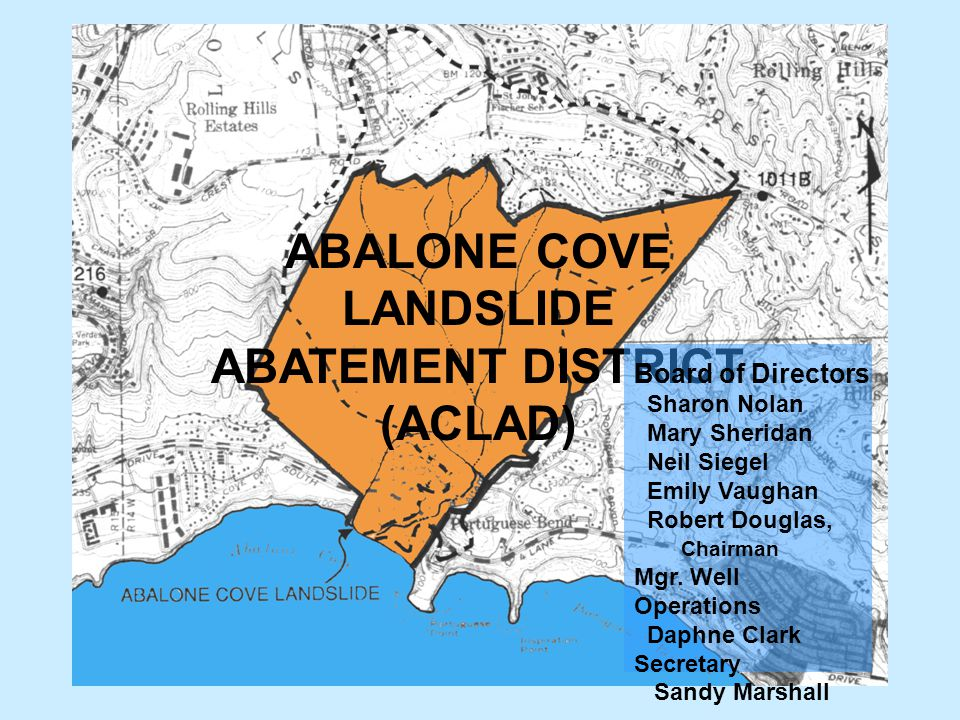 ABALONE COVE LANDSLIDE