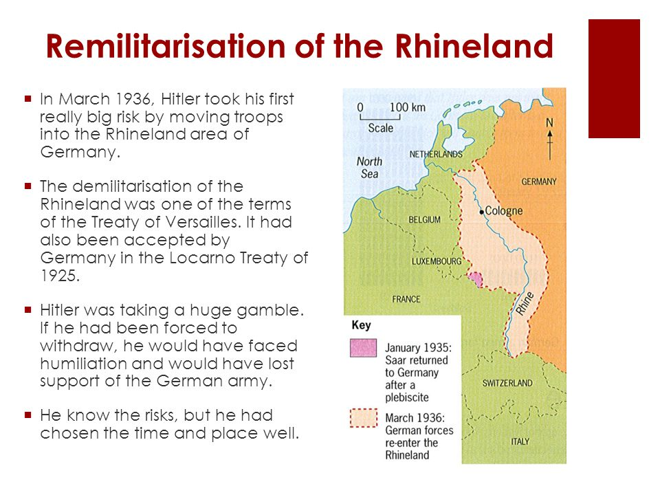 Remilitarisation of the Rhineland