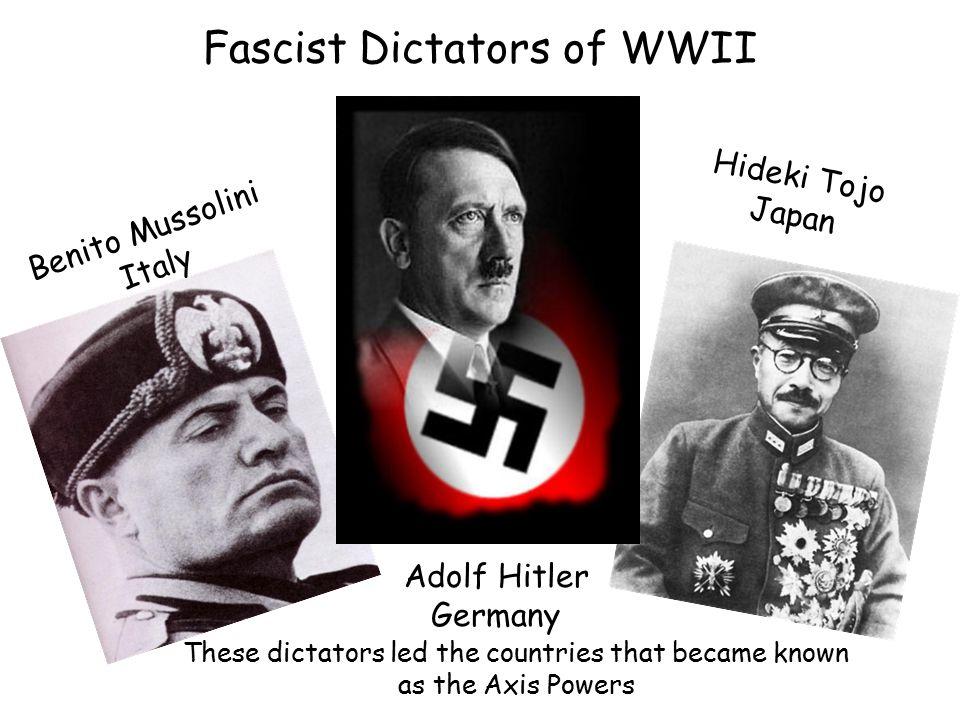 Fascist Dictators of WWII