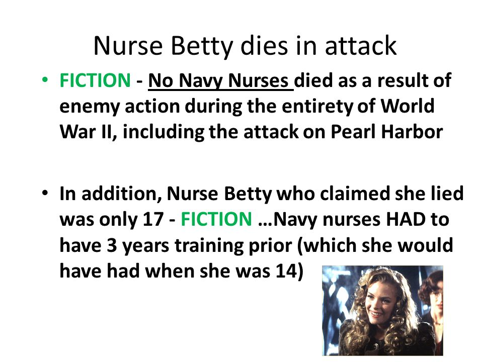 Nurse Betty dies in attack