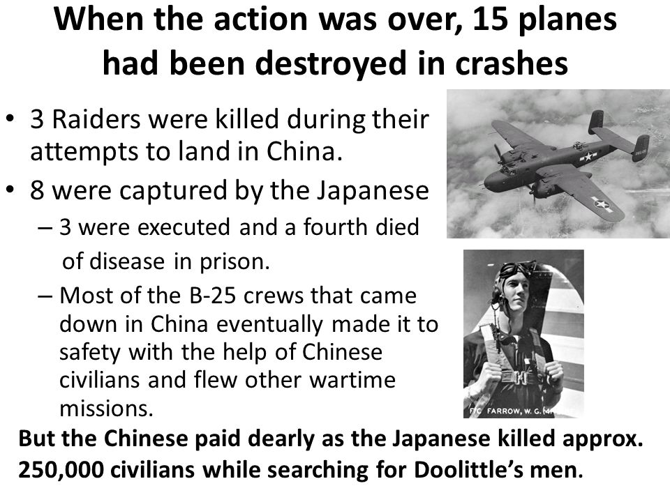 When the action was over, 15 planes had been destroyed in crashes