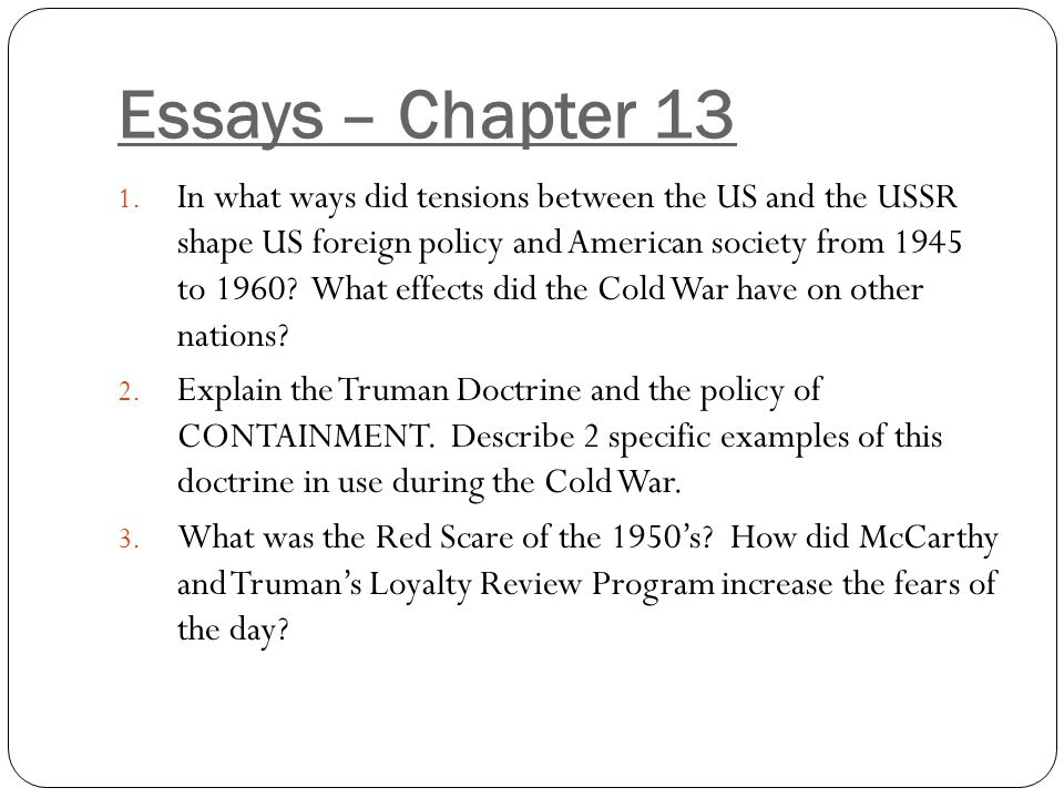 an analysis of the topic of the cold war beginnings Best teachers' pages/library projects (media analysis here are some general sites that you can browse in order to find a topic that suits you cold war.