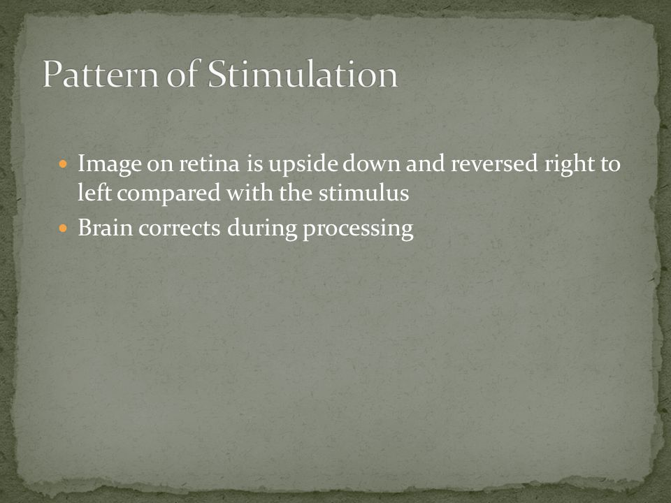 Pattern of Stimulation