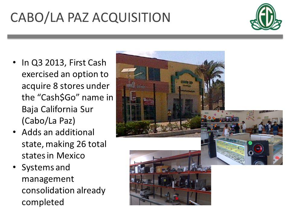 CABO/LA PAZ ACQUISITION