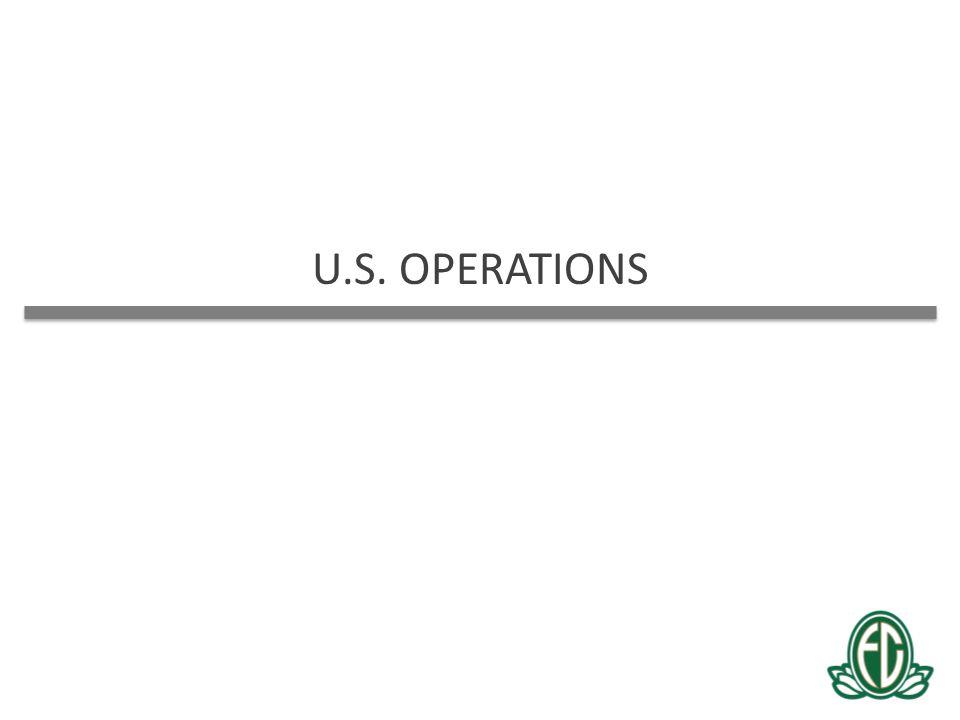 U.S. OPERATIONS